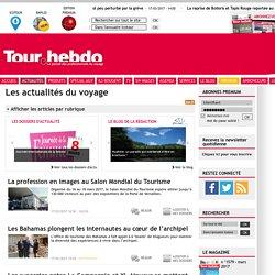 TourHebdo, site officiel - les actualités du portail Pros du tourisme