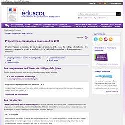 Actualités - Préparer la rentrée scolaire 2013