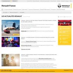 Actualités Renault - Découvrez Renault