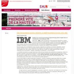 EMLYON BUSINESS SCHOOL INVENTE LA SMART BUSINESS SCHOOL AVEC IBM / News / Actualites / Notre Mission / Accueil - Formation Ressources Humaines : Parcours Certifiant Nouveau responsable RH