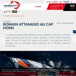 Actualités - Romain Attanasio au cap Horn - Vendée Globe 2016-2017