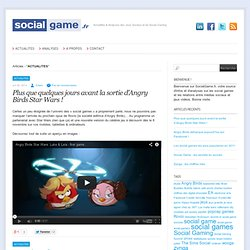 ACTUALITES « SocialGame.fr – Social Games, Social Gaming, Actus & Analyses