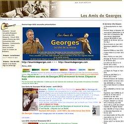 Brassens Georges Brassens Amis de Georges Actualites Spectacles Festivals