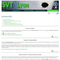 Actualités - SVT Lyon