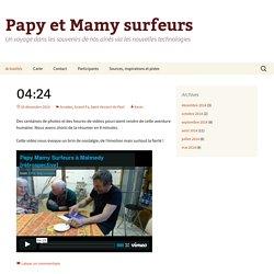 Papy et Mamy surfeurs : un voyage dans les souvenirs de nos aînés via les nouvelles technologies