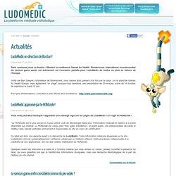 La plateforme médicale vidéoludique