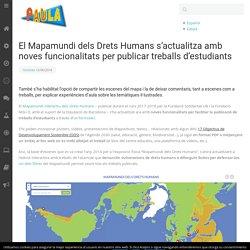 Mapamundi dels Drets Humans per publicar treballs d'estudiants » Portal PAULA