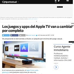 La nueva actualización del Apple TV cambiará por completo sus aplicaciones y juegos