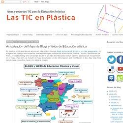 Las TIC en Plástica: Actualización del Mapa de Blogs y Webs de Educación artística