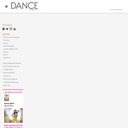 What Does It Actually Feel Like to Stop Dancing? - dancemagazine