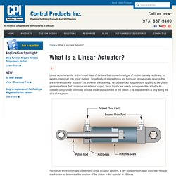Linear Position Transducers in Linear Actuators – by CPI