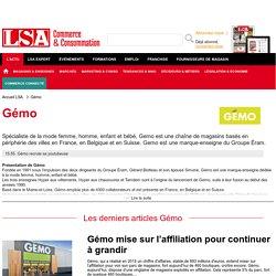Gémo : Actus de l'enseigne française de mode à bas prix sur LSA Conso
