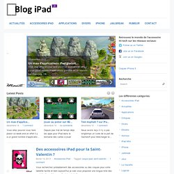 Blog-iPad.fr - Actus, tests et informations sur l'iPad d'Apple.
