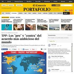 """El Comercio (2 feb 2016) - TPP: Los """"pro"""" y """"contra"""" del acuerdo más ambicioso del mundo"""