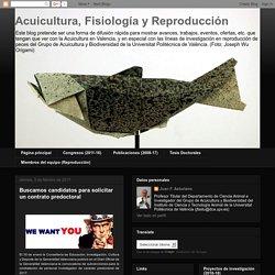 Acuicultura, Fisiología y Reproducción