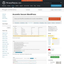 Secure WordPress