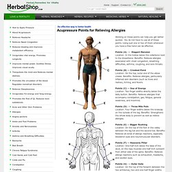 Acupressure Points for Relieving Allergies