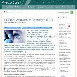 La Tapas Acupressure Technique (TAT) - Therapeutia