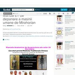 Atlas Acupunctura-Manual ET de depanare a masinii umane de Mirahorian