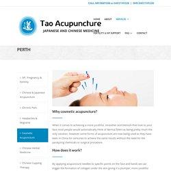 Cosmetic Acupuncture Perth - Tao Acupunture Perth