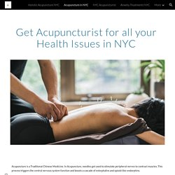 Contact Marc Bystock at Holistic Acupuncture in NYC