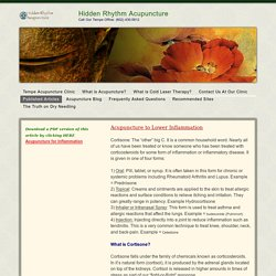 Acupuncture to Reduce Inflammation