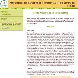 ACVFTI - Petite histoire de la carte postale