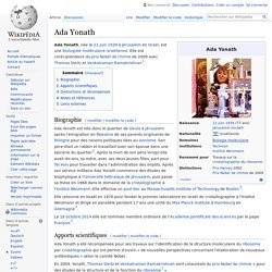 Ada Yonath