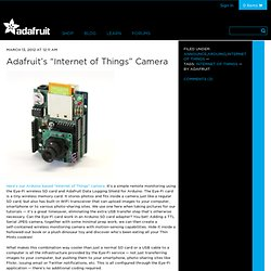 "s ""Internet of Things"" Camera"