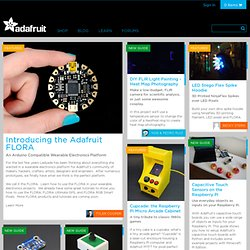 Tutorials : Adafruit Industries, Unique & fun DIY electronics and kits