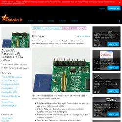 s Raspberry Pi Lesson 4. GPIO Setup