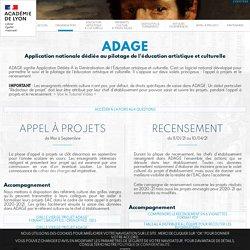 ADAGE - Foire aux questions - DAAC de Lyon