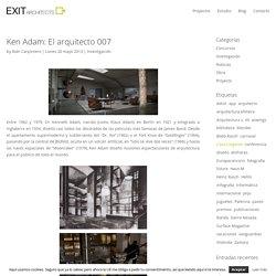 Ken Adam: El arquitecto 007