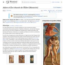 Adam et Ève chassés de l'Éden (Masaccio)