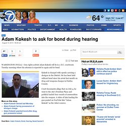 Adam Kokesh to ask for bond during hearing