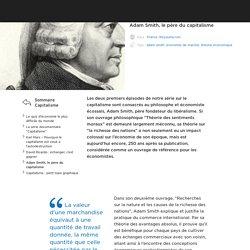Adam Smith, le père du capitalisme