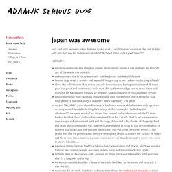 adamjk serious blog