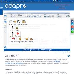 ADAPRO - Procesador de Texto Adaptado