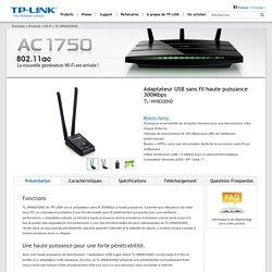 Adaptateur USB sans fil haute puissance 300Mbps TL-WN8200ND - Bienvenue chez TP-LINK