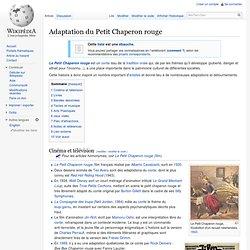 Adaptation du Petit Chaperon rouge