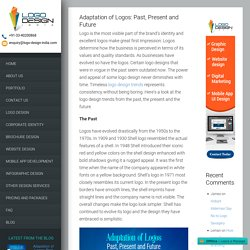Adaptation of Logos: Past, Present and Future
