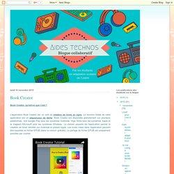 TIC et Adaptation scolaire: Book Creator