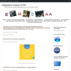 Adaptation scolaire et TIC