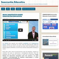MOOC ADAPTATIVO SOBRE INNOVACIÓN EDUCATIVA.
