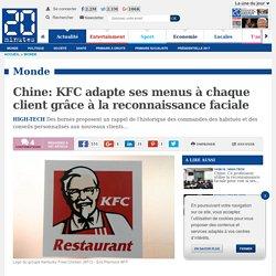 Chine: KFC adapte ses menus à chaque client grâce à la reconnaissance faciale
