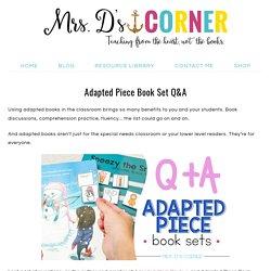 Adapted Piece Book Set Q&A - Mrs. D's Corner