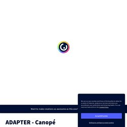 ADAPTER - Canopé