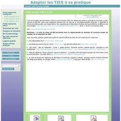 [Adapter les TICE à sa pratique] Mettre en place le B2i à l'école