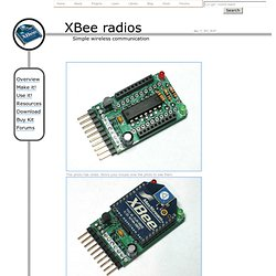 XBee adapter - Simple wireless communication