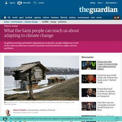 What the Sami people can teach us about adapting to climate change